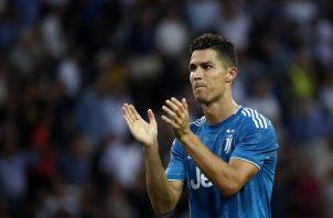 Cristiano Ronaldo.Foto:AP