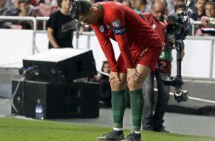 Cristiano Ronaldo está en recuperación.