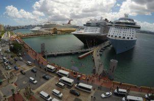Las líneas de cruceros gastaron 534 millones de dólares, una media de 14,8 millones de dólares por destino.