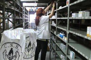 Cerca de 70 medicamentos no mantiene el inventario actual. Foto /Archivo.