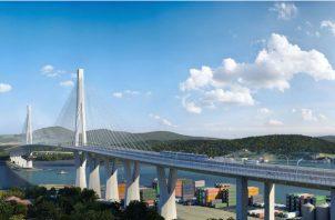 El proyecto del Cuarto Puente sobre el Canal de Panamá tiene un costo de $1,420 millones. Foto/Archivo