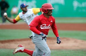 Cuba quedó sin medallas en el béisbol. Foto:EFE