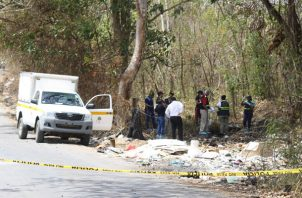 El cuerpo del taxista fue encontrado en el poblado de La Playita.