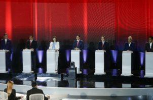 El debate presidencial  iniciará  a las 8:00 p.m. en la sede del Parlatino.