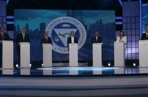 Anoche se celebró el último debate antes de las elecciones. Foto de Víctor Arosemena