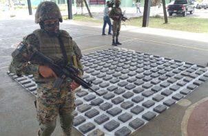 En los 132 días que va del  año se  ha sacado de las calles 14 mil 149 paquetes de drogas.