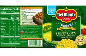 Los productos sujetos a retiro son las latas de 15.25 onzas (432g)