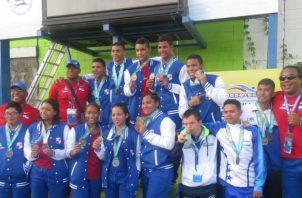 Delegación de Panamá en los juegos. Foto Pandeportes