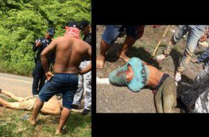 Detención provisional a dos sujetos por robo en La Bonga.