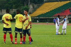 La Sub-20 de Panamá realizó dos amistosos ante su similar de Colombia. Foto:Fepafut