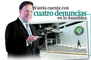 Los procesos contra Juan Carlos Varela deben ser resueltos para tranquilidad de la sociedad panameña. Foto/Archivos