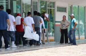 El albergue no solamente brinda atención a los nacionales que son deportados sino también a decenas de migrantes de otros países.