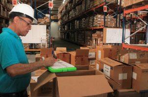 Durante el inventario. Foto: Cortesía