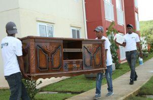 Gobierno desaloja a una familia completa del proyecto Altos de Los Lagos en Colón. Foto: Panamá América.