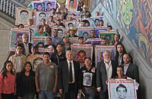 El próximo 26 de septiembre se cumplen cinco años de la desaparición de los 43 estudiantes de Ayotzinapa. FOTO/EFE