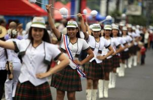 Tanto el 3 y 4 de noviembre los desfiles patrios están programados para iniciar a las 9:00 a.m.