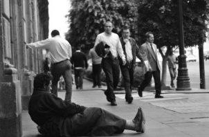 Nada se dice que el reparto desigual del producto social que se genera como nación y país, es parte sustancial de los problemas patrios. Foto: Archivo.
