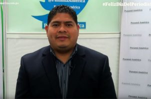 Dustin Guerra, director del Diario Panamá América. Foto/Juan Carlos Lamboglia