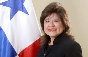 La Viceministra Diana Salazar fue egresada de la Universidad de Panamá con el título de Licenciada en Economía