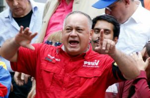 Juan Carlos Varela irá preso, asegura vicepresidente de Venezuela Diosdado Cabello. Foto: El Universal de Venezuela.