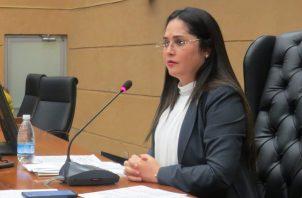 Zulay Rodríguez continúa su lucha para regular el control migratorio en Panamá.