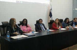 Samira Gozaine compareció a la Asamblea Nacional. Foto de Twitter