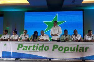 Panameñistas y Partido Popular van nuevamente en aliaza. Foto/Victor Arosemena