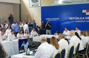 En el primer Consejo de Gabinete del gobierno de Laurentino Cortizo se aprueba resolución para eliminar la polémica Aupsa.