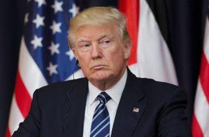 Donald Trump, presidente de Estados Unidos. Foto/EFE Archivo