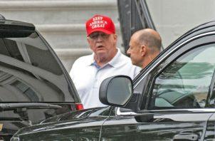 Trump no especificó quién cree que es el responsable de los ataques.