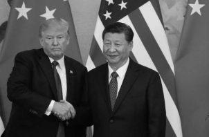 Trump, y su homólogo chino, Xi Jinping, se reunirán el mes próximo en Osaka durante la cumbre del G20. Foto: EFE.