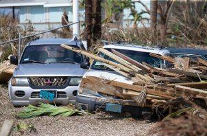 El huracán Dorian causó estragos en  Islas Ábaco y Gran Bahama. FOTO/AP