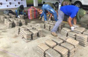 La droga en Capira fue ubicada mediante tarea de patrullaje.