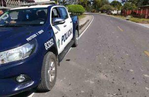 El decomiso la aprehensión y el decomiso de la sustancia se logró por unidades de la Policía Nacional y la fiscalía relacionada con asuntos de drogas del Ministerio Público.