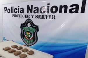 Las autoridades mantienen la vigilancia en el área para que siga ingresado la sustancia ilícita. Foto/Thays Domínguez