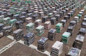 El Senan incautó unos 4 mil kilos de presunta droga.