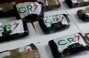 Droga decomisada por las autoridades italianas.