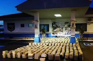 Más de 38 mil 789 toneladas de droga incautadas en el 2018. Foto/Cortesía