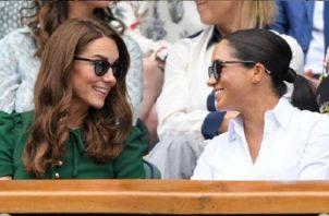 Kate Middleton y Meghan Markle. Foto: Instagram