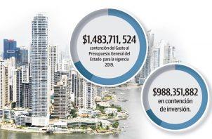 El ministro de Economía y Finanzas, Héctor Alexander, aseguró que entre el 60 y 70% del bono de los 2 mil millones de dólares se destinarían para cumplir con proyectos.