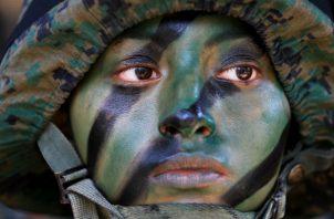 Para la soldado Casandra Herrera, lo más doloroso fue alejarse de su familia y seres queridos.