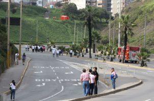 """En Perú no se registra de momento daños personales como en Ecuador, donde al menos dos personas quedaron heridas """"sin mayor gravedad""""."""