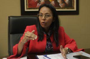 La secretaria técnica del Gabinete Social, Edith Castillo, habló sobre el programa Colmena.