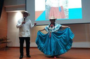 Eduardo Alberto Cano durante su presentación. Foto: Fanny Arias