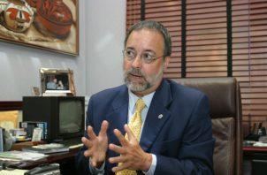 El magistrado del Tribunal Electoral (TE), Eduardo Valdés Escoffery.