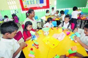 La educación preescolar se ha convertido en una necesidad para que niños entre 3 y 5 años comiencen a desarrollar habilidades. Foto de archivo