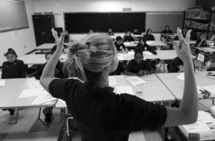 La construcción de un nuevo modelo educativo es un tema de Estado y compromete a toda la sociedad. Jóvenes deben empoderarse del tema. Foto: Archivo.
