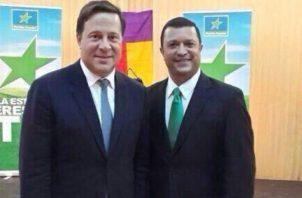 """Edwin """"Candín"""" Cárdenas fue uno e los funcionarios allegados al presidente Juan Carlos Varela."""