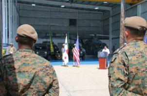 Estados Unidos equipa a estamentos de seguridad panameños para defender la frontera con Colombia. Foto: Senan.