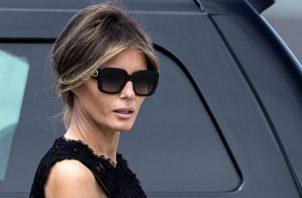 """La primera dama tenía hoy previsto desplazarse a Filadelfia (Pensilvania) para participar en un acto de la campaña """"Be Best"""" (Sé mejor)."""